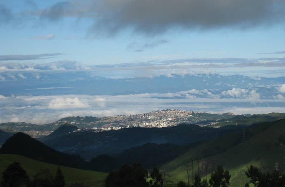 Manizales desde 3.300 msnm