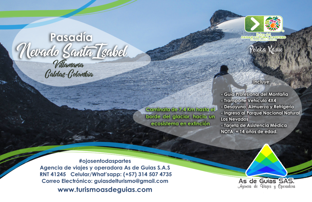 Volcán Nevado Santa Isabel